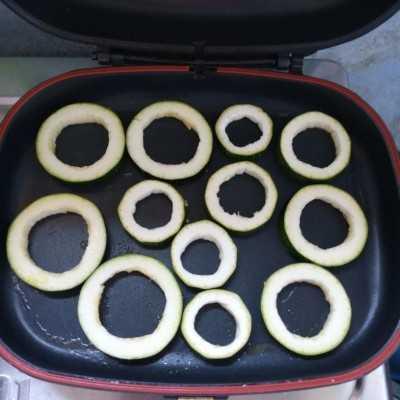 Step 3 Zucchini Panggang Saus Black pepper