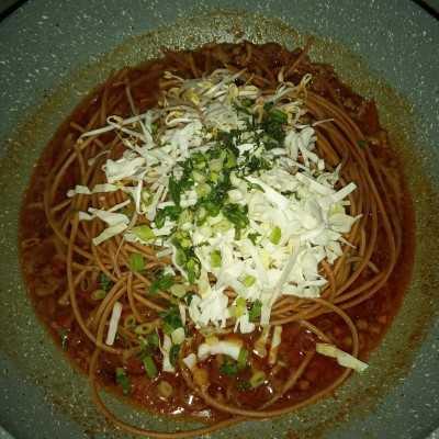 Step 5 Spaghetti (Mie) Aceh Goreng Basah