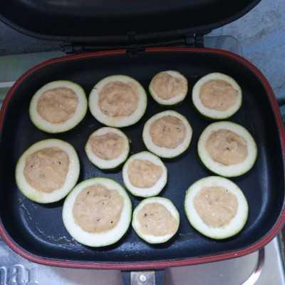 Step 4 Zucchini Panggang Saus Black pepper