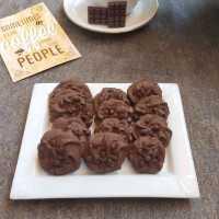 Kue Semprit Coklat Chocochip