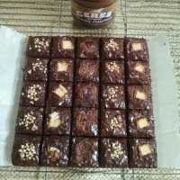Chewy Brownies Shiny Crust