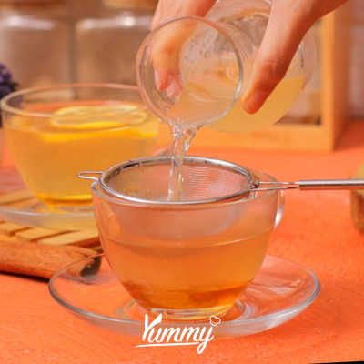 Step 5 Wedang Jahe Lemon