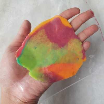 Step 7 Mini Melon Pan Rainbow #DiRecookYummy