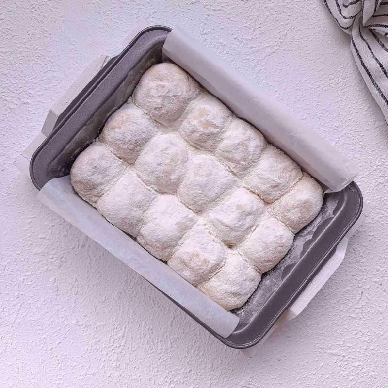 Japanese Milk Bread No Knead #DiRecookYummy