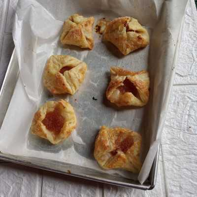 Step 9 Pineapple Pastry #DiRecookYummy