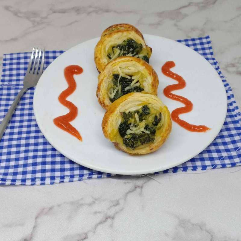 Spinach Roll #DiRecookYummy