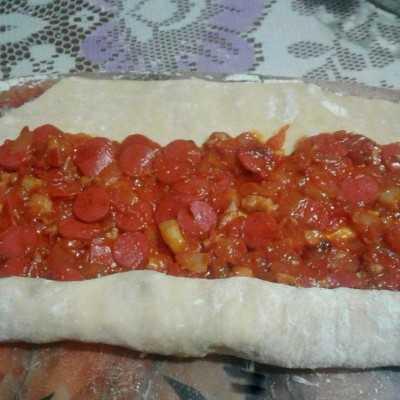 Step 8 Pizza Bunga #DiRecookYummy