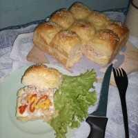 Roti Burger Sobek #DiRecookYummy