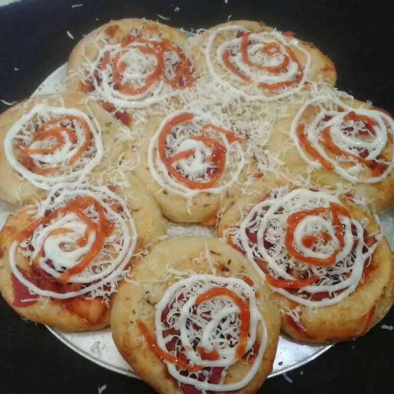 Pizza Bunga #DiRecookYummy