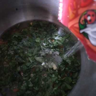 Step 2 Bubur Nasi Sayur Jahe #MPASIEkstraPoin