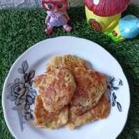 Snack MPASI Pancake Pisang Raja #MPASIEkstraPoin