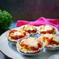 Macaroni Cup With Bolognese Sauce