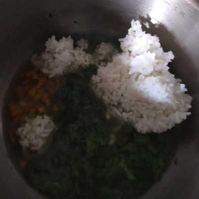 Step 4 Bubur Nasi Sayur Jahe #MPASIEkstraPoin