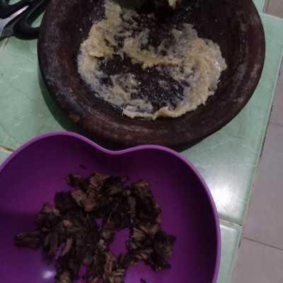 Step 1 Nasi Goreng Daging Leftover #MPASIEkstraPoin
