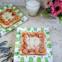 Pizza Roti Tawar