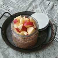 Choco Apple Overnights Oats