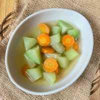 Sayur Bening Labu Siam