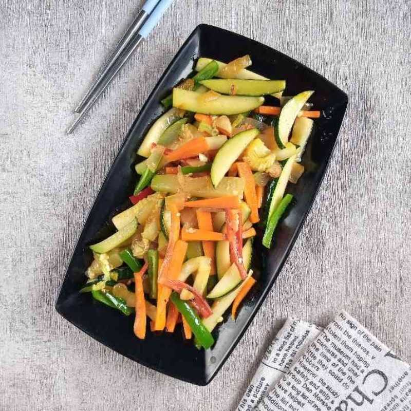 Zucchini Masak Wortel