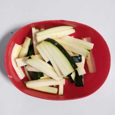 Step 1 Zucchini Masak Wortel