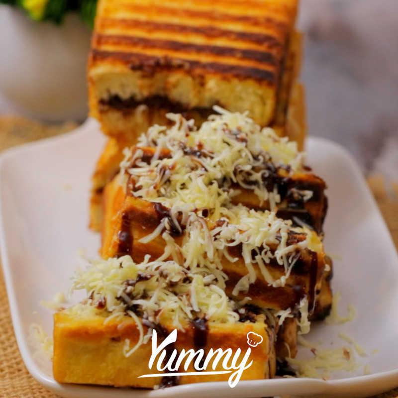 Roti Bakar Bandung Coklat Keju