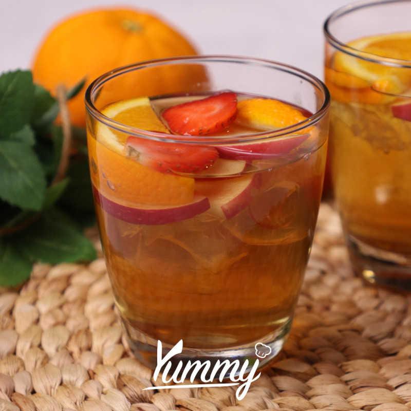 Refresh Fruit Green Tea Menantea Ala Yummy