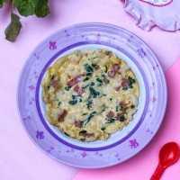 Macaroni Spinach Omelette #YummyMPASIChallenge