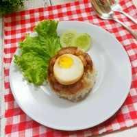 Nasi Tim Ayam Telur #YummyMPASIChallenge