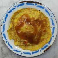 Nasi Telur Saus Gravy