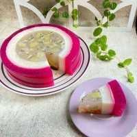 Dragon Fruit Fruity Puding #DiRecookYummy