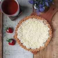 Coconut Puding Pie Biskuit #DiRecookYummy