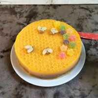 Mango Pudding Cake #DiRecookYummy
