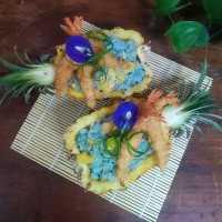 Nasi Goreng Nanas Bunga Telang